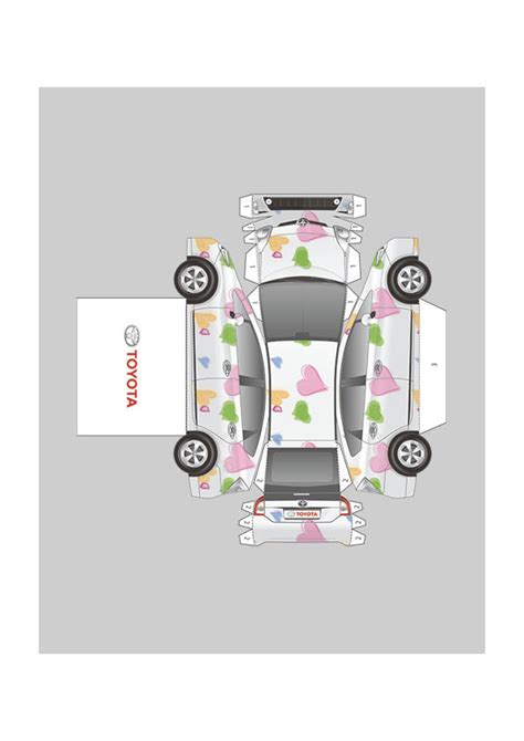 Toyota Papercraft - who wants to build a paper toyota carscoops