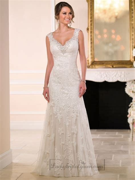 Stella York Spring 2015   Lace wedding dresses, Lace