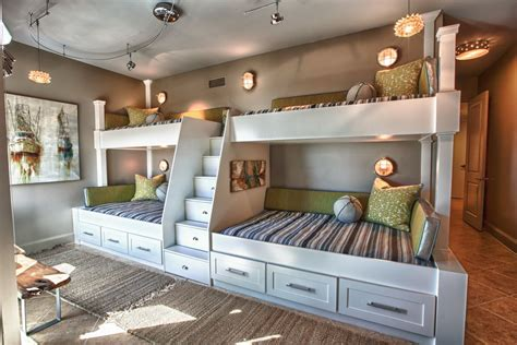 in wall bunk beds bunk beds built into wall home design ideas