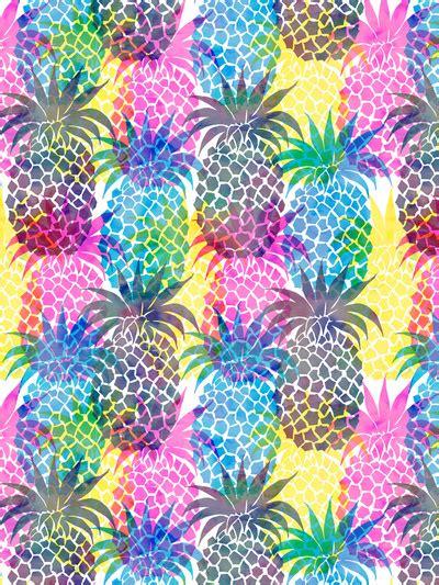 emoji pineapple wallpaper pineapple cmyk repeat art print by schatzi brown image