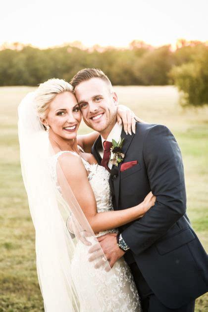 heidi holmes  miles stallards rustic wedding  big