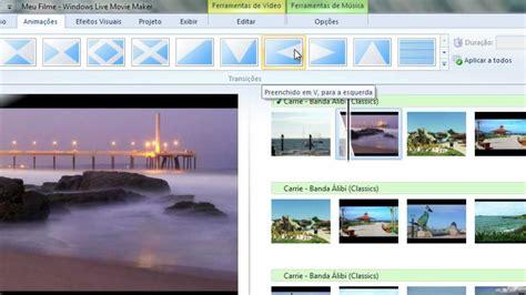 tutorial de como fazer video no windows movie maker tutorial como fazer v 237 deos de fotos e musica com windows