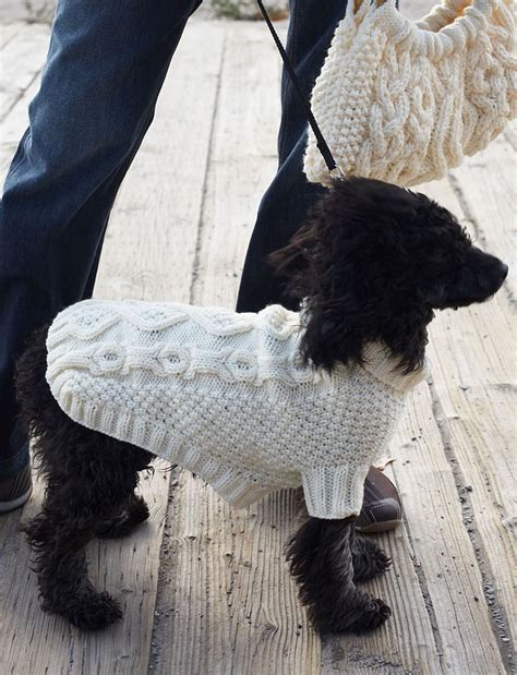 wool pattern for dog coat knitted dog sweaters to keep your pooch warm