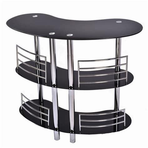 Contemporary Bar Table Homegear Contemporary Curved Bar Table Ebay