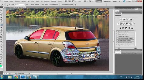 Modifying Cars On Photoshop by Araba Photoshop Y 246 Netilen Bilgisayarlar