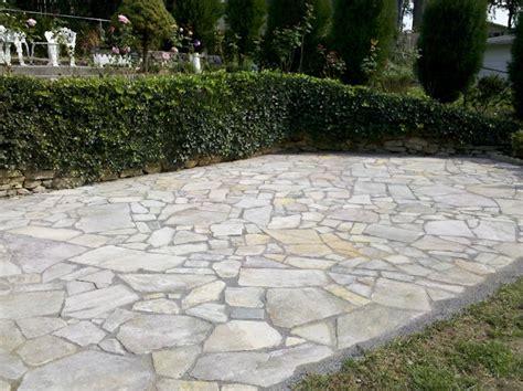 Irregular Patio by Irregular Paver Patio Garden Shape Patio