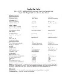 isobella jade s modeling tips headshot and resume
