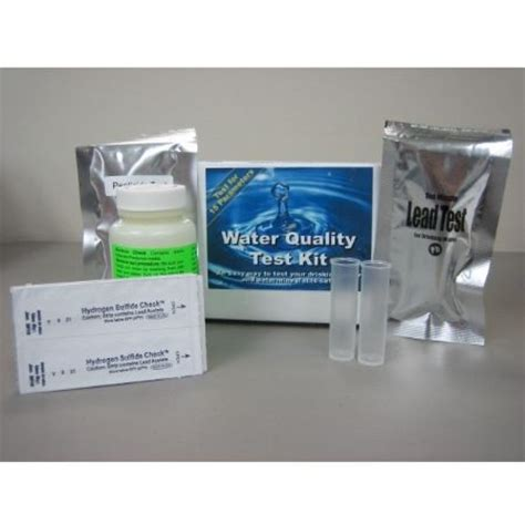 complete home water test kit includes test for lead