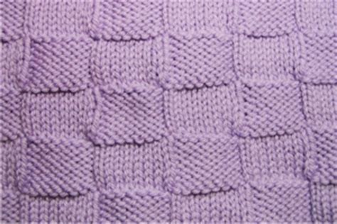 checkered knitting pattern how to knit