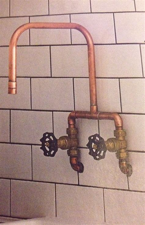copper tap made by a plummer for 163 30 house and home