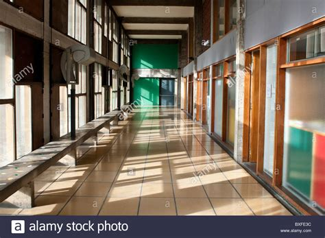le corbusier le de marseille corridor unite d habitation by le corbusier marseille