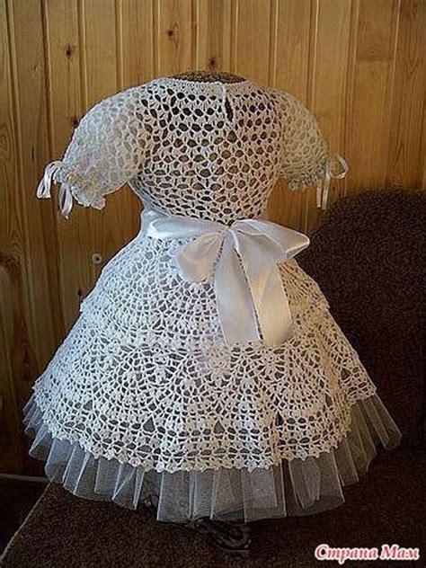 vestido de abanicos para ni 241 a parte 2 la falda vestido tejido de bautizo paso a paso trico y crochet