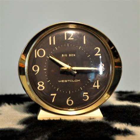 westclox big ben wind  alarm clock