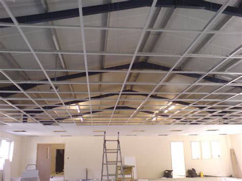 Suspending Ceiling by Laserline Ceilings Partitions Cornwall Suspended