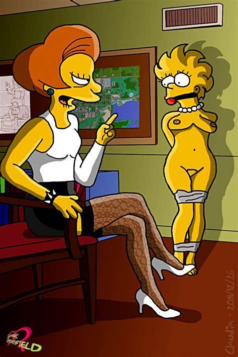 Domina Ms Krabappel Severely Punishes Lisa