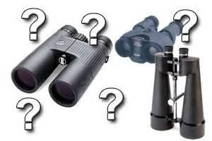 choosing binoculars