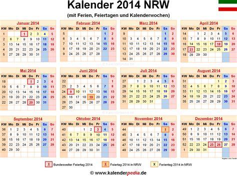 Kalender 2021 Nrw Ferien Nordrhein Westfalen Nrw 2014 220 Bersicht Der