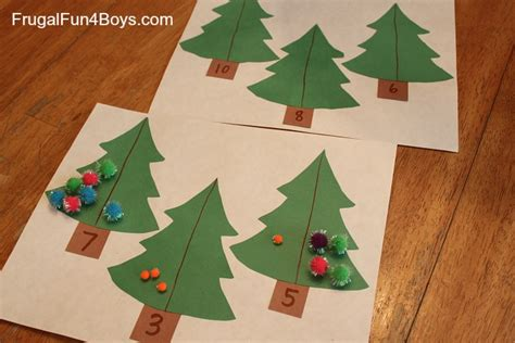 christmas tree math frugal fun for boys and girls