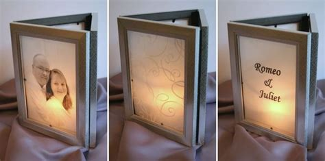 picture frame centerpiece ideas make photo frame luminarias 187 dollar store crafts