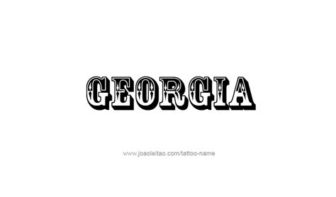 state of georgia tattoo designs design usa state 12 png