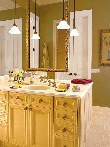 large bathroom with hanging lights bathrooms