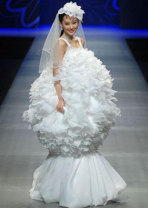 imagenes de vestidos de novia extravagantes los espectaculares vestidos de novia de la china fashion