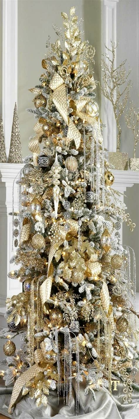 25 best ideas about gold christmas tree on pinterest
