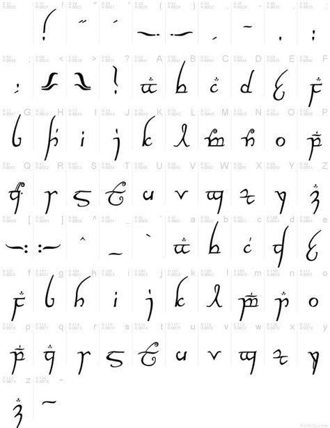 elvish jrr tolkien tattoo inspiration pinterest