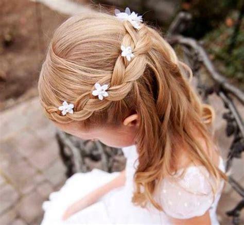 peinados para nias de 10aos para la comunion peinados para ni 241 as en su primera comuni 243 n peinado con trenzas