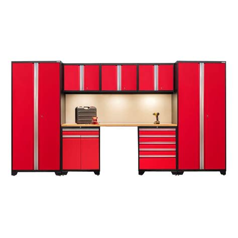outdoor kitchen server w storage cabinet deep red newage products pro 3 series 85 in h x 156 in w x 24 in