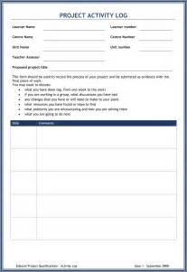 activity book template 5 plus activity log templates to keep track your activity logs