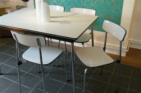 vintage chrome formica kitchen table all about house
