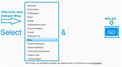 Cara Membuat Website Gratis Dengan Wix | cara mudah membuat website blog gratis di wix com