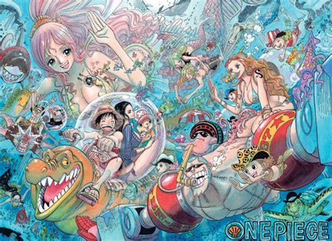 Original One Logbox Fishman Island Of Luffy Jinbei viz one vol 64 review
