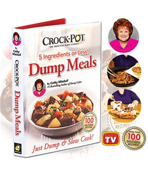 the easy 5 ingredient crock pot cookbook easy delicious crock pot express recipes for fast healthy meals books crock pot 174 5 ingredient dump meals cookbook the lakeside