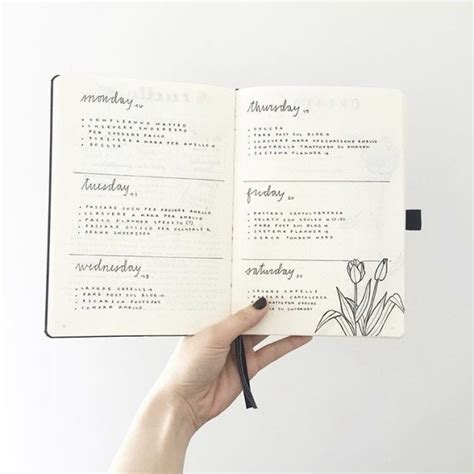 layout instagram buzzfeed 24 minimalist bullet journal layouts that ll get you hard