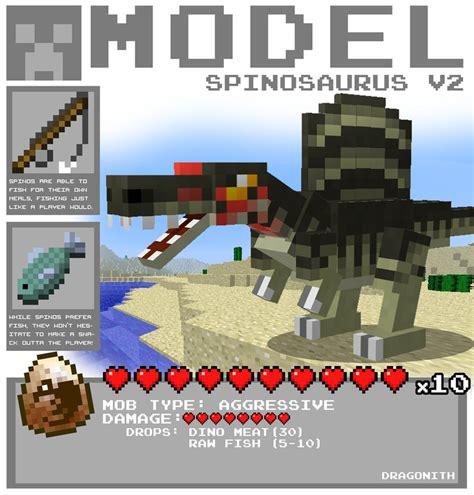 Minecraft Papercraft Dinosaur - fossil archeology content pack extinct wip mods