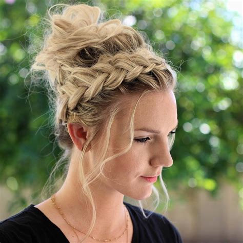 Braided Updo Hairstyles by 10 Braided Updo Hairstyles To Try On A Fash Circle