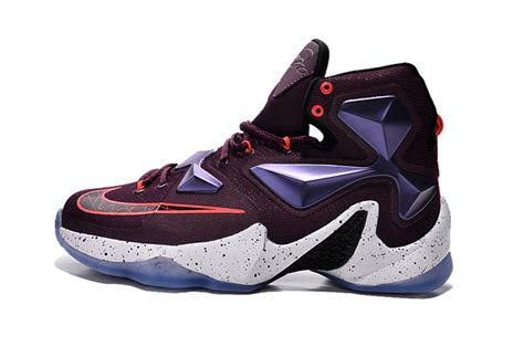 mens basketball shoes for sale nike lebron 13 purple white mens basketball shoes for
