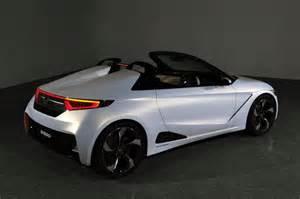 Honda Sportscar Honda S660 Sports Car Concept To Debut At Tokyo Motor Show
