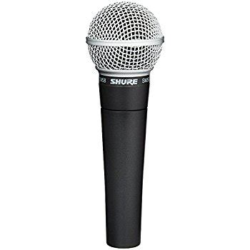 Shure Sm58 Vocal Microphone Amazoncouk Computers | shure sm58 vocal microphone amazon co uk musical instruments