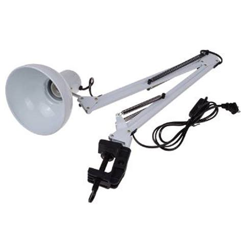 white swing arm l hot sale led lighting table lights white adjustable swing