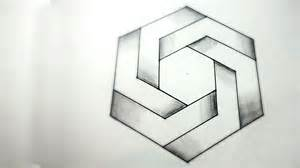 Easy geometric optical illusions how to draw optical illusions