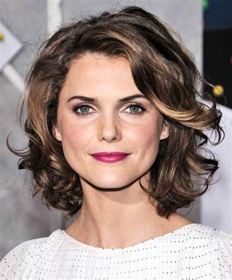 round face curly bob 15 popular short curly hairstyles for round faces short