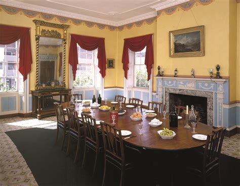 Inside The Otis House The Boston Day Book Dining Rooms Boston