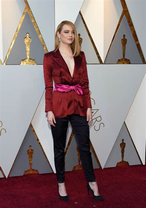 emma stone oscar emma stone s not great 2018 oscar night