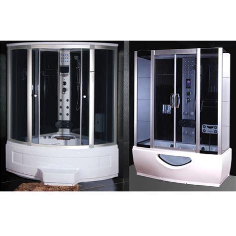 cabina doccia vasca cabina e vasca idromassaggio in pi 249 misure con sauna e