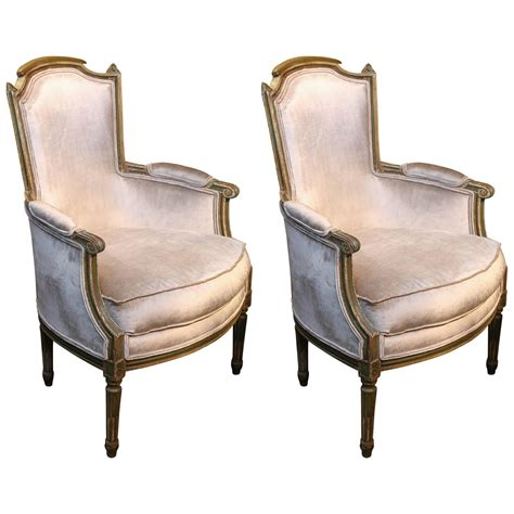 Bergere Chairs For Sale by Pair Of Louis Xvi Bergere Chairs For Sale At 1stdibs