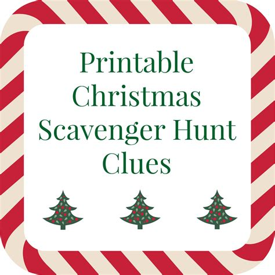 printable christmas scavenger hunt printable christmas scavenger hunt clues for present