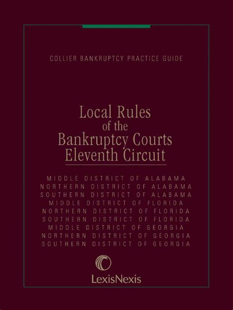 local rules of the bankruptcy courts 11th circuit